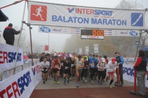 Marathon around Lake Balaton